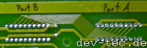 Leybold Cassy-P Lehrsystem - Platine Detail