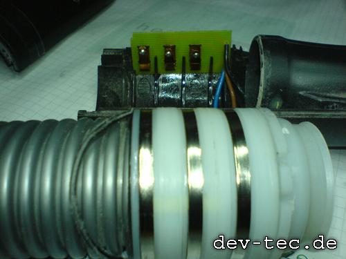 Miele S558 Schlauch und Elektronik nach dem Reinigen