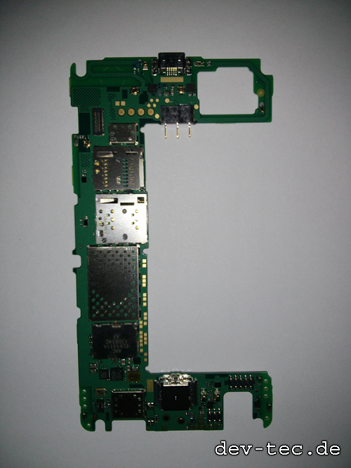 Stripped down Nokia 820