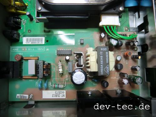 TechniSat Receiver - Netzteil Reparatur