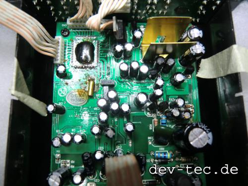 XtremeMac Reparatur - Platine