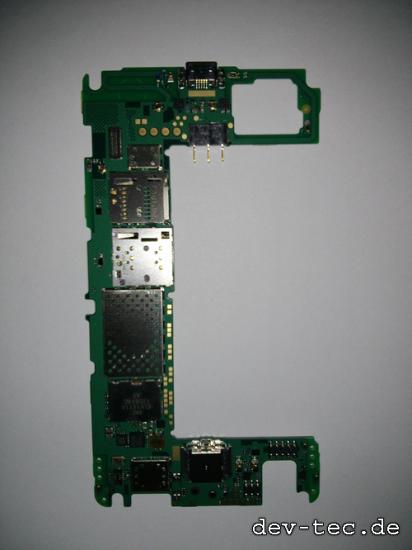 Stripped down Nokia 820
